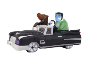 Monsters in Convertible